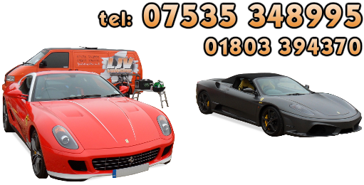 Call LJV Valeting Today on 01803 326545 or mobile on 07535 348995